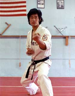 Sensei Takahashi 1970 - shotokan karate