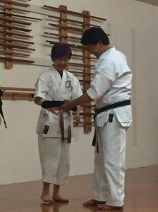 Sensei Takahashi & Michiyo Suzuki